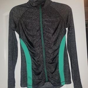 ideology athletic zip-up jacket